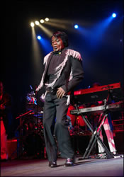 James Brown - still doing it at 70!