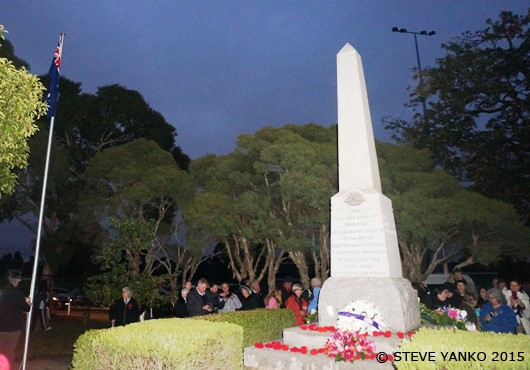 ANZAC Day 100 Year Anniversary Dawn Service
